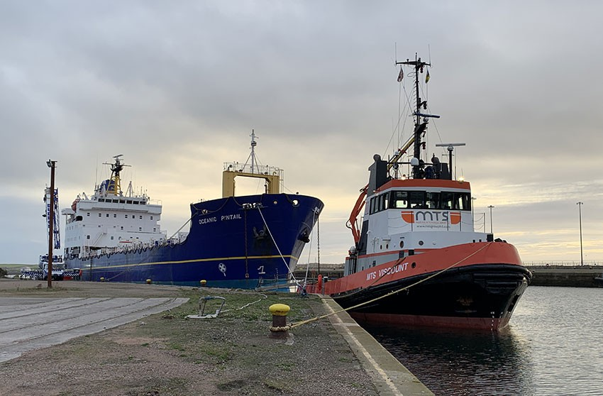 Dales Marine secures decommissioning of MV Oceanic Pintail
