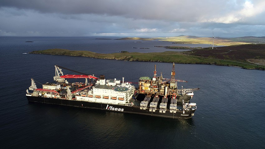 Worley supports Allseas to decommission two east Irish Sea platforms